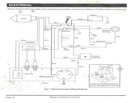 ezgo voltage regulator wiring diagram free