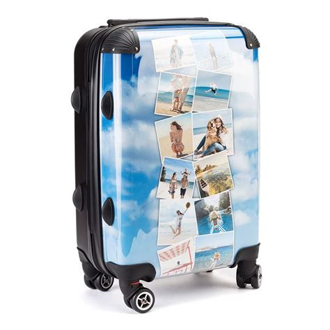 personalized luggage custom luggage printed with your photo