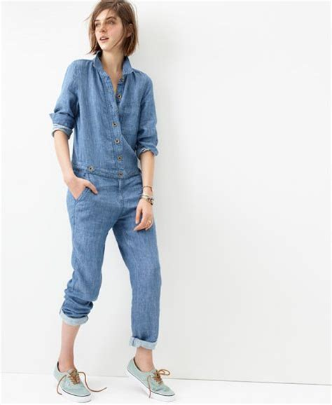 Madewell Sweepstakes - denim all in one jumpsuit fashion ql