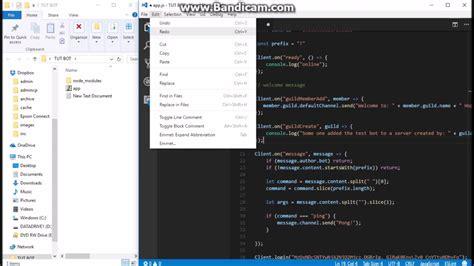 discord bot tutorial discord js bot tutorial part 2 help command