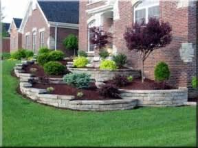 sloped front yard designs one can only landscape sloped lawn landscape