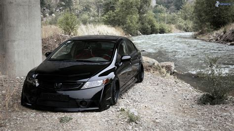 tuner honda civic honda civic tuning honda civic coupe tuning wallpaper