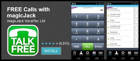 magicjack android make free calls with magicjack