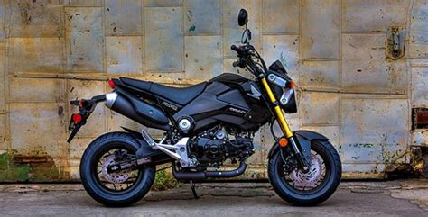 honda grom brings big bike aggression   small