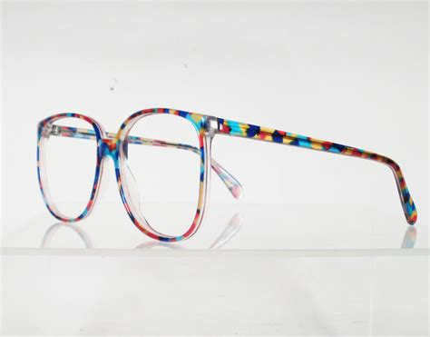 australian optical drover multi colored eyeglass frames by