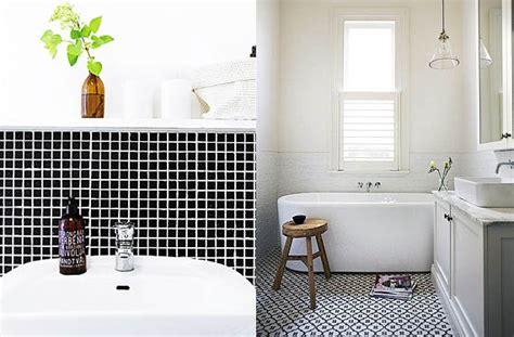 imagenes baños blanco y negro azulejos en blanco y negro para el cuarto de ba 241 o