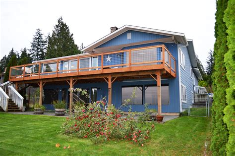bellingham salt waterfront home with shop for sale