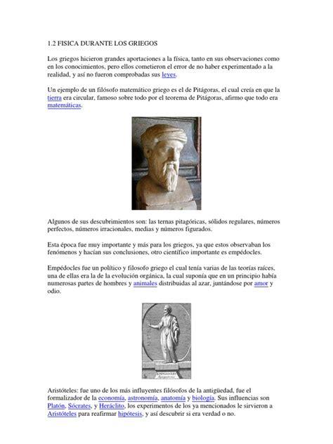 biography of galileo galilei resumen la fisica durante los griegos