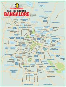 Bangalore India Map by Bangalore India Map