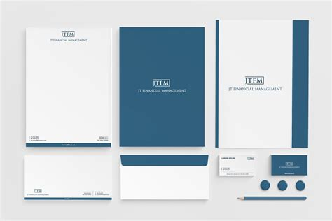 Finance Company Letterhead letterhead design for jt financial management ltd by roy