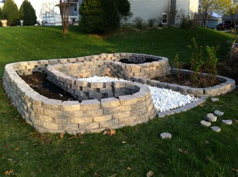 How To Build A Rock Garden Bed How To Build Elevated Garden Beds Home Decorating Ideas
