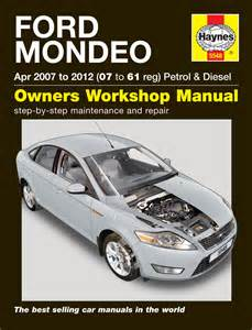 Ford Service Manuals Ford Mondeo Petrol Diesel Apr 07 12 07 To 61