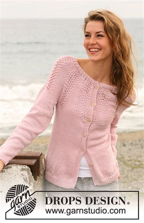 drops design tutorial video 150 best knitting adults drops cardigans images on