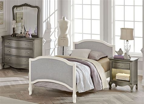 kensington antique white victoria youth panel bedroom set