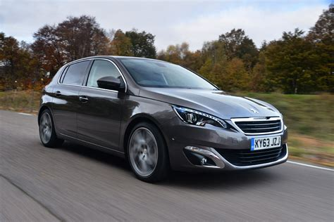peugeot automatic cars peugeot 308 1 6 blue hdi most economical cars most