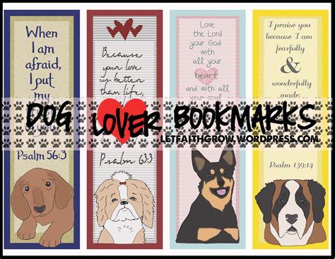 printable bookmarks dogs bible verse bookmarks letfaithgrow