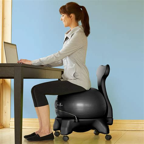 Chair Balls For Office by Gaiam Balance Chair Exercise Stability