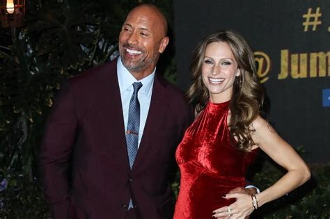 dwayne the rock johnson lauren hashian dwayne johnson delayed wedding