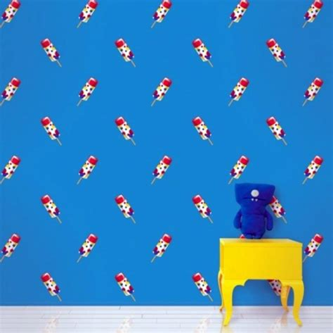colorful patterned wallpapers for kids rooms by allison krongard digsdigs colorful wallpaper for children s rooms by allison
