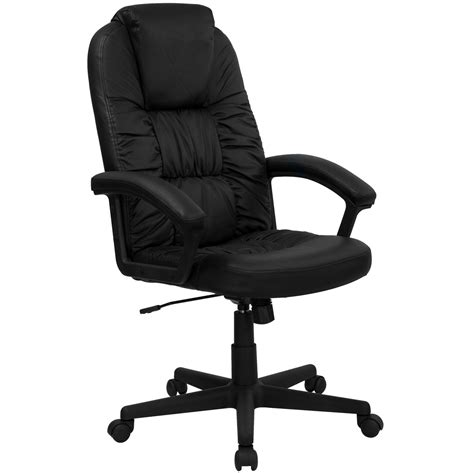high back executive chair leather high back black leather executive swivel office chair bt