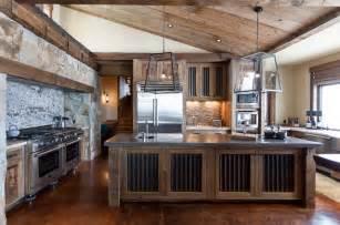 boot barn hill juniper rustic kitchen sacramento by high