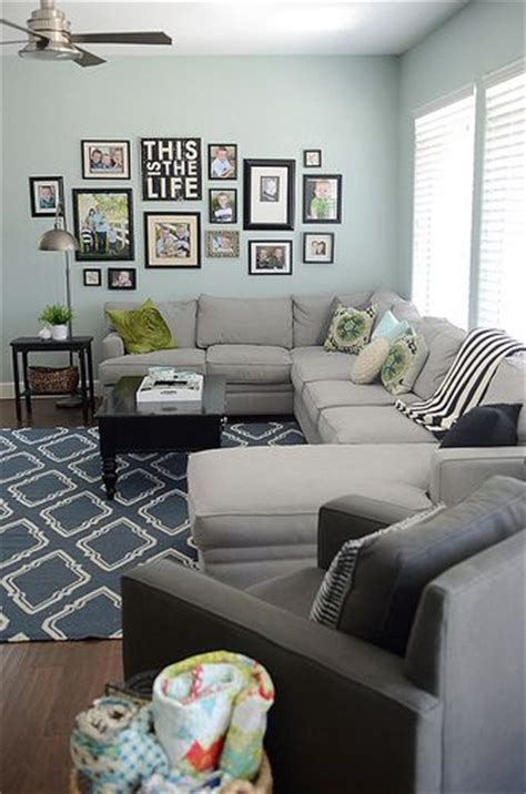 Living Room Wall Family Photos Exactly What I Want For The Living Room Reversed