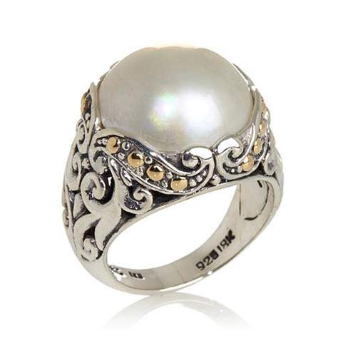 bali designs by robert manse cultured mab 233 pearl sterling