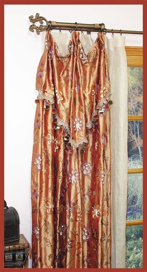 stationary curtain rod other ona drapery hardware