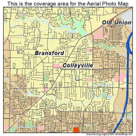 colleyville texas map aerial photography map of colleyville tx texas