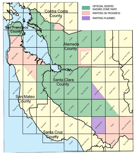 seismic zone map california how the seismic hazards mapping act affects site