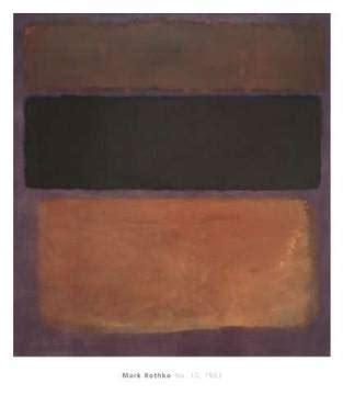 Rothko Kunstdruck by Rothko No 10 1963 Kunstdruck Poster