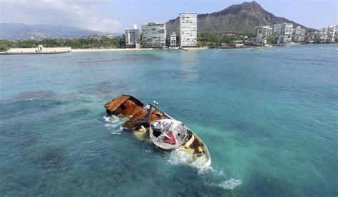 fishing boat jobs in hawaii this nov 1 2017 drone photo shows the fishing boat