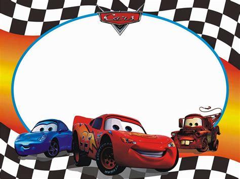 imagenes cumpleaños de cars invitaciones o marcos para fotos de cars para imprimir