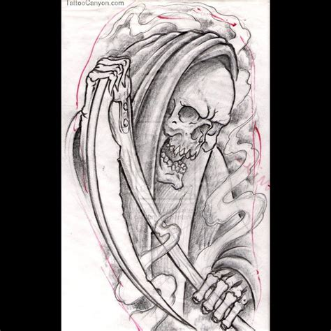 reaper tattoos designs 14049 cool designs grim reaper tattoos design