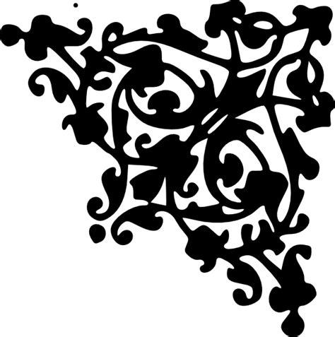 decorative pattern png decorative corner design clip art at clker com vector