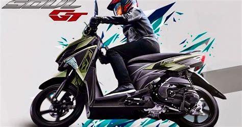 New Soul 7 motor yamaha all new soul gt 125 blue terbaru 2015