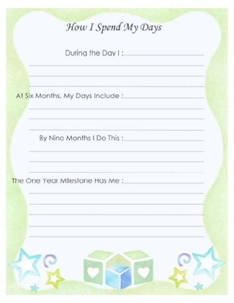 free printable baby journal pages free printable baby book page quot my travels quot scrapbooking
