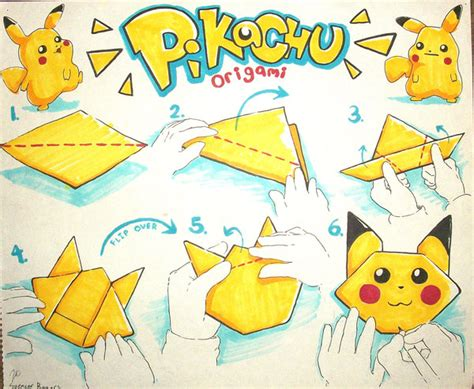Origami Pokemons - origami diagrams images images