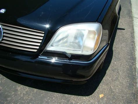 buy used 1993 mercedes benz 600sec base coupe 2 door 6 0l v12 in irvine california united