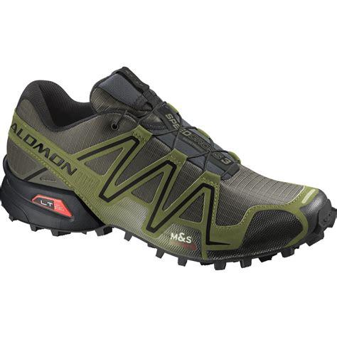 salomon speedcross 3 mens trail running shoes salomon speedcross 3 gtx trail running shoe s