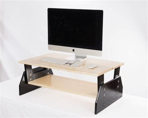 desk topper shelf 17 best images about stand up desk toppers on