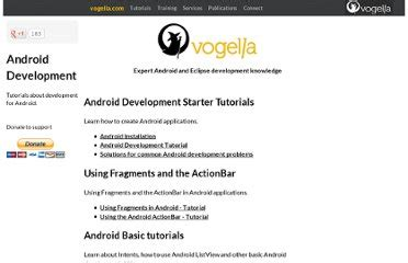 android tutorial vogella pdf learn android app development faster