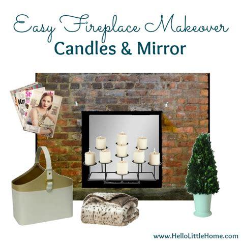 rental fireplace makeover rental rev 3 easy fireplace makeovers
