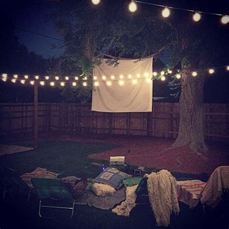 backyard movie theater 20 cool backyard movie theaters for outdoor entertaining
