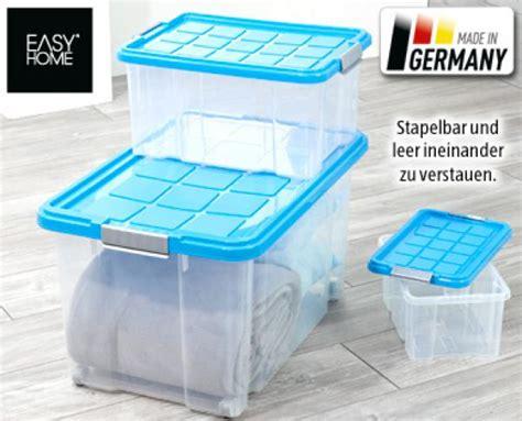easy home stapelboxen set  teilig von aldi sued ansehen
