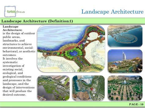 Landscape Planning Definition Landscaping Architecture