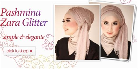 tutorial berhijab resmi hijab story gaya pashmina glitter buat hijabers dream co id