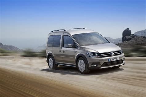 volkswagen alltrack offroad new vw caddy gets alltrack version with off road styling