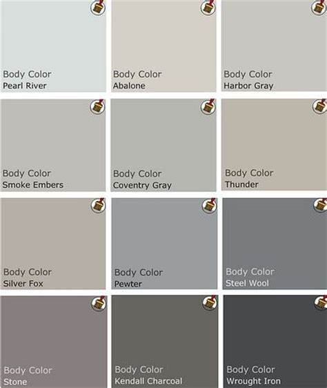 shades of gray colors 50 shades of grey paint colors