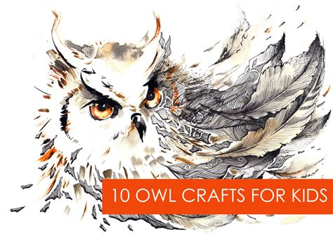 owl crafts what a hoot 10 owl crafts for lasso the moon